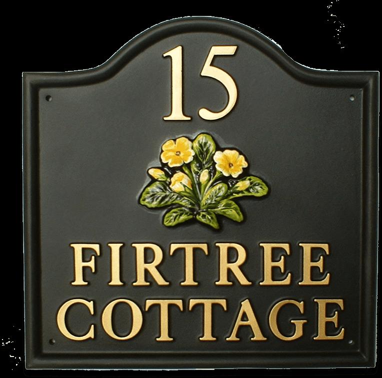 Primrose house sign