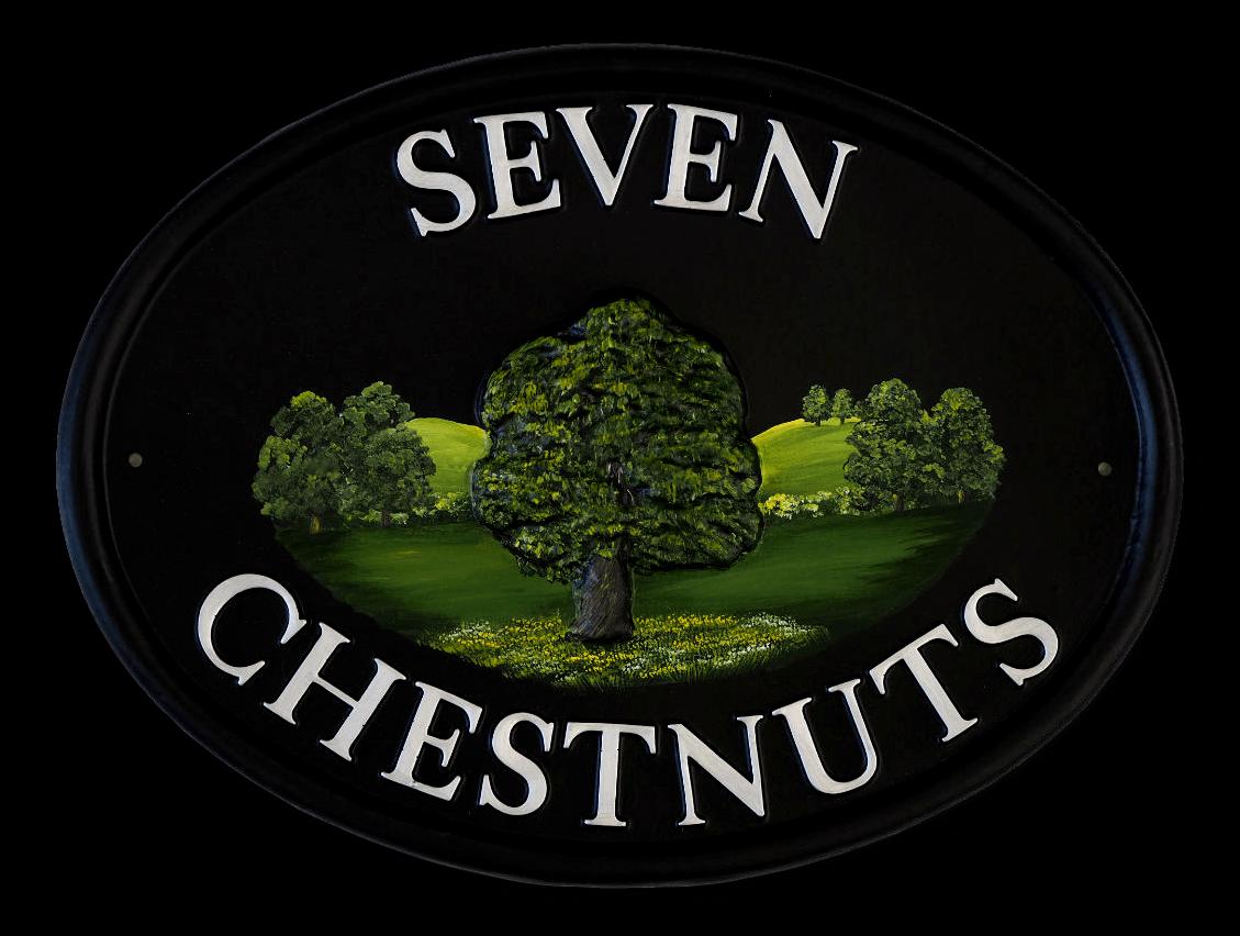 Chestnut house sign
