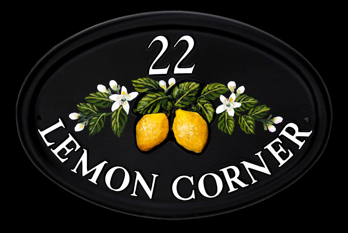 Lemons house sign