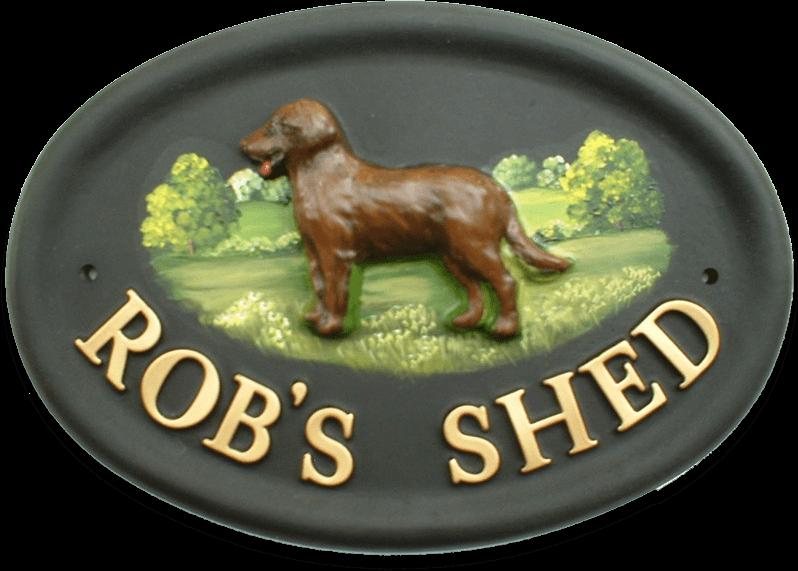 Labrador Full house sign