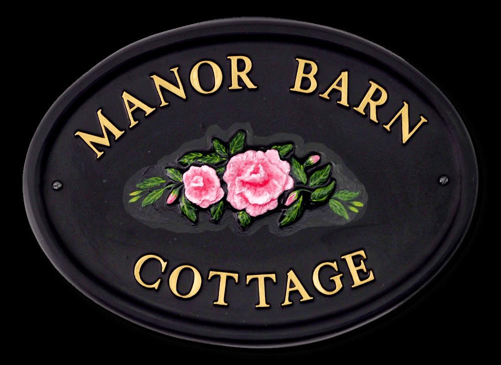 Camellia house sign