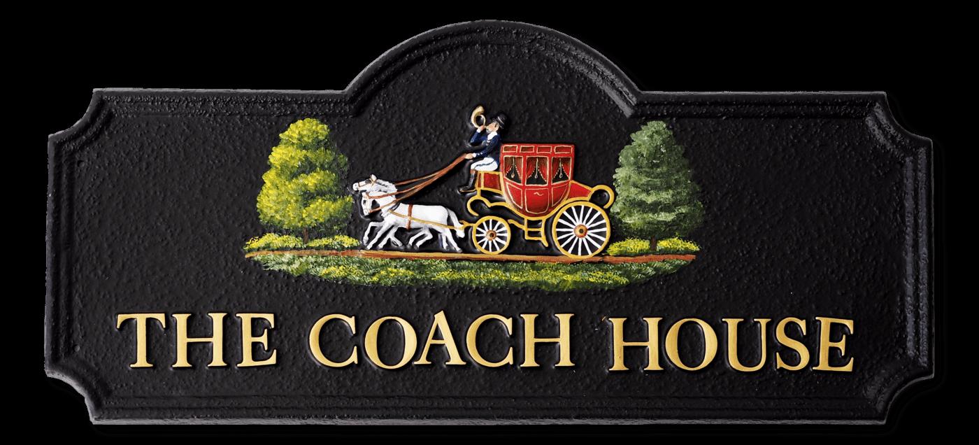 Coach & Horses house sign