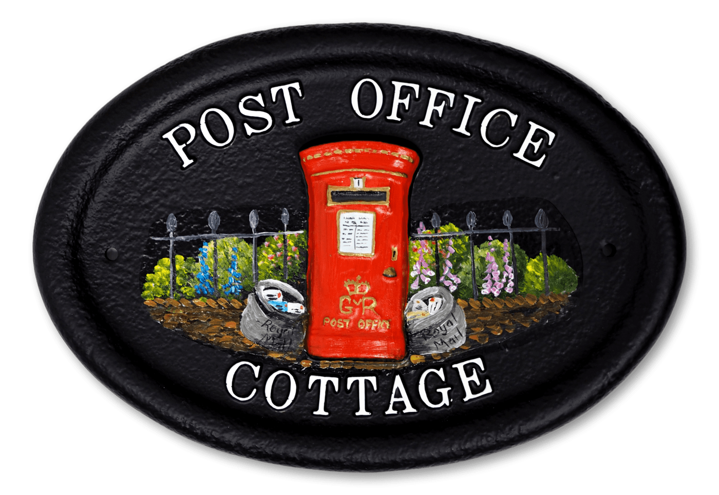 Post Box house sign