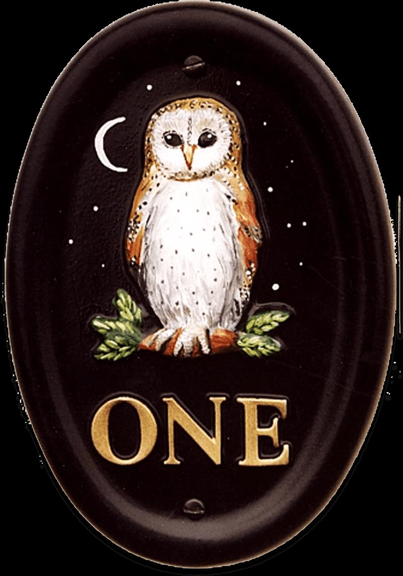 Owl Barn Small house sign