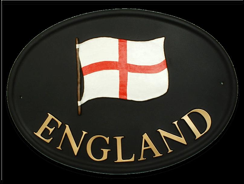 Flag house sign