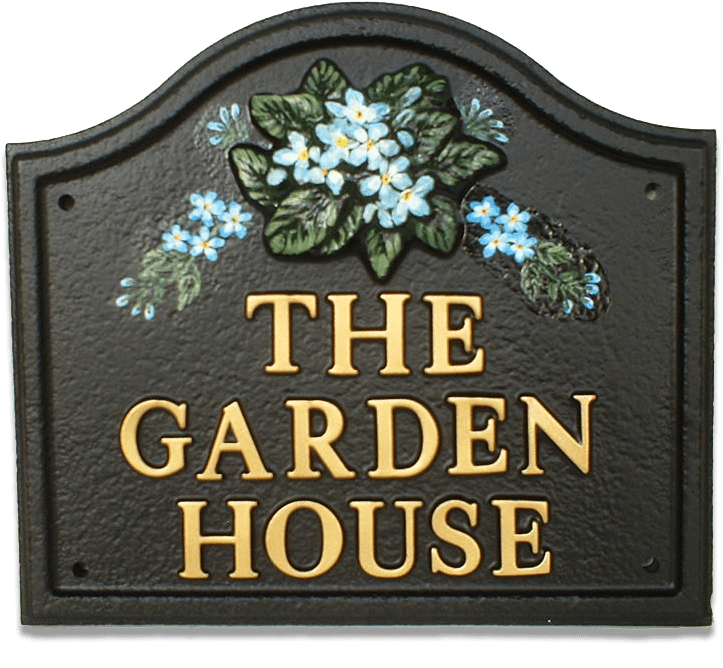 Forget Me Not house sign
