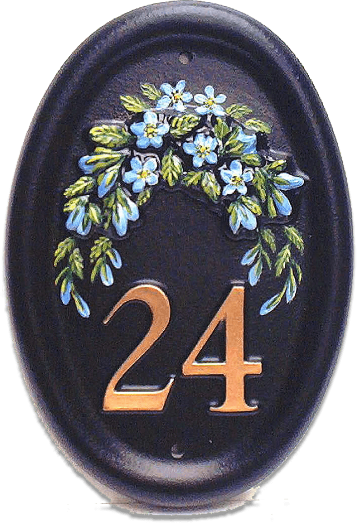 Forget Me Nots house sign