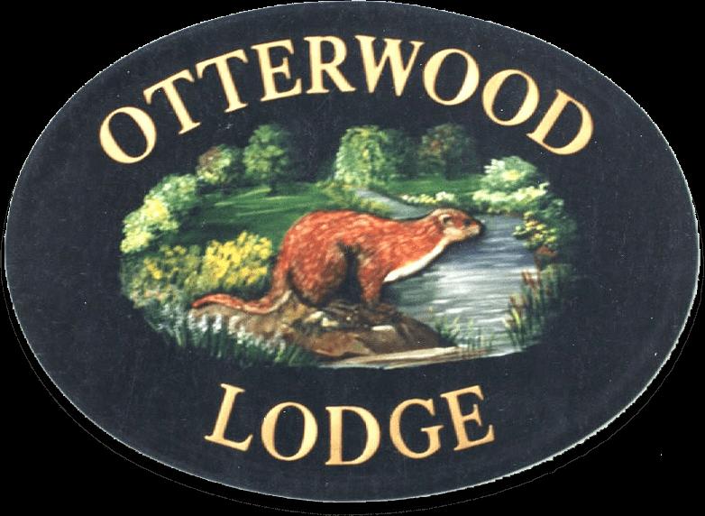 Otter house sign