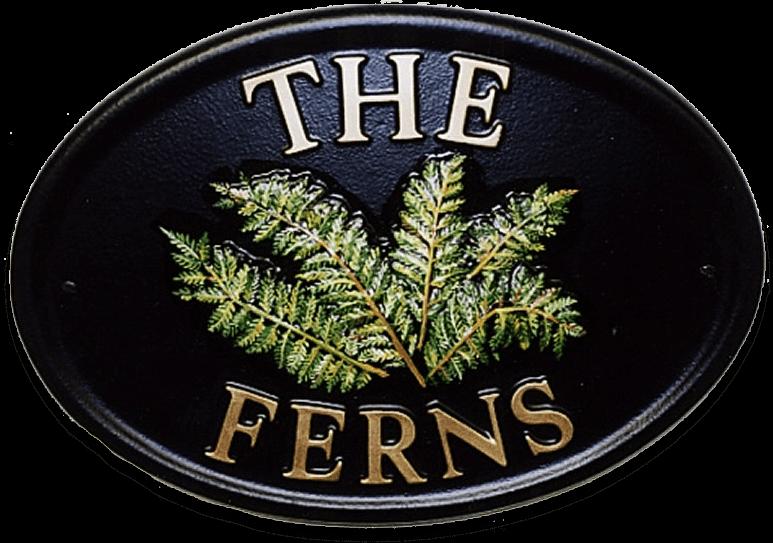 Ferns house sign