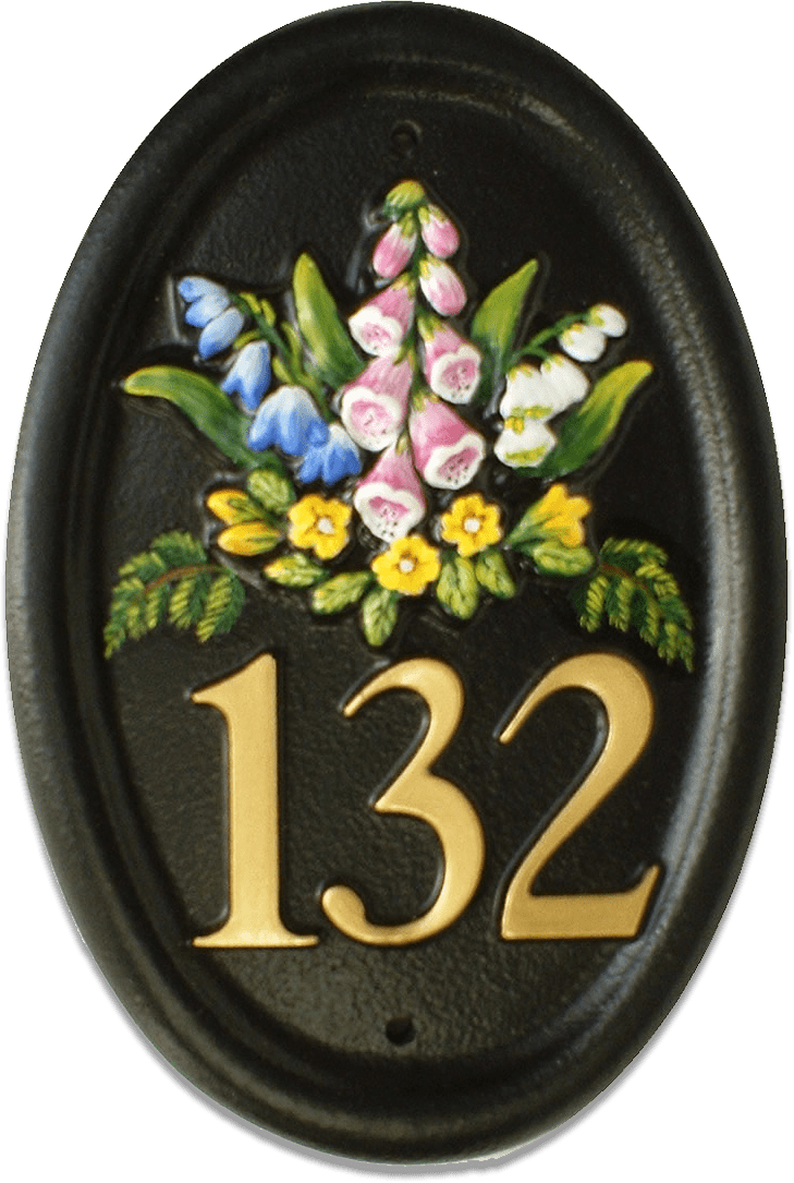 Wild Flowers house sign