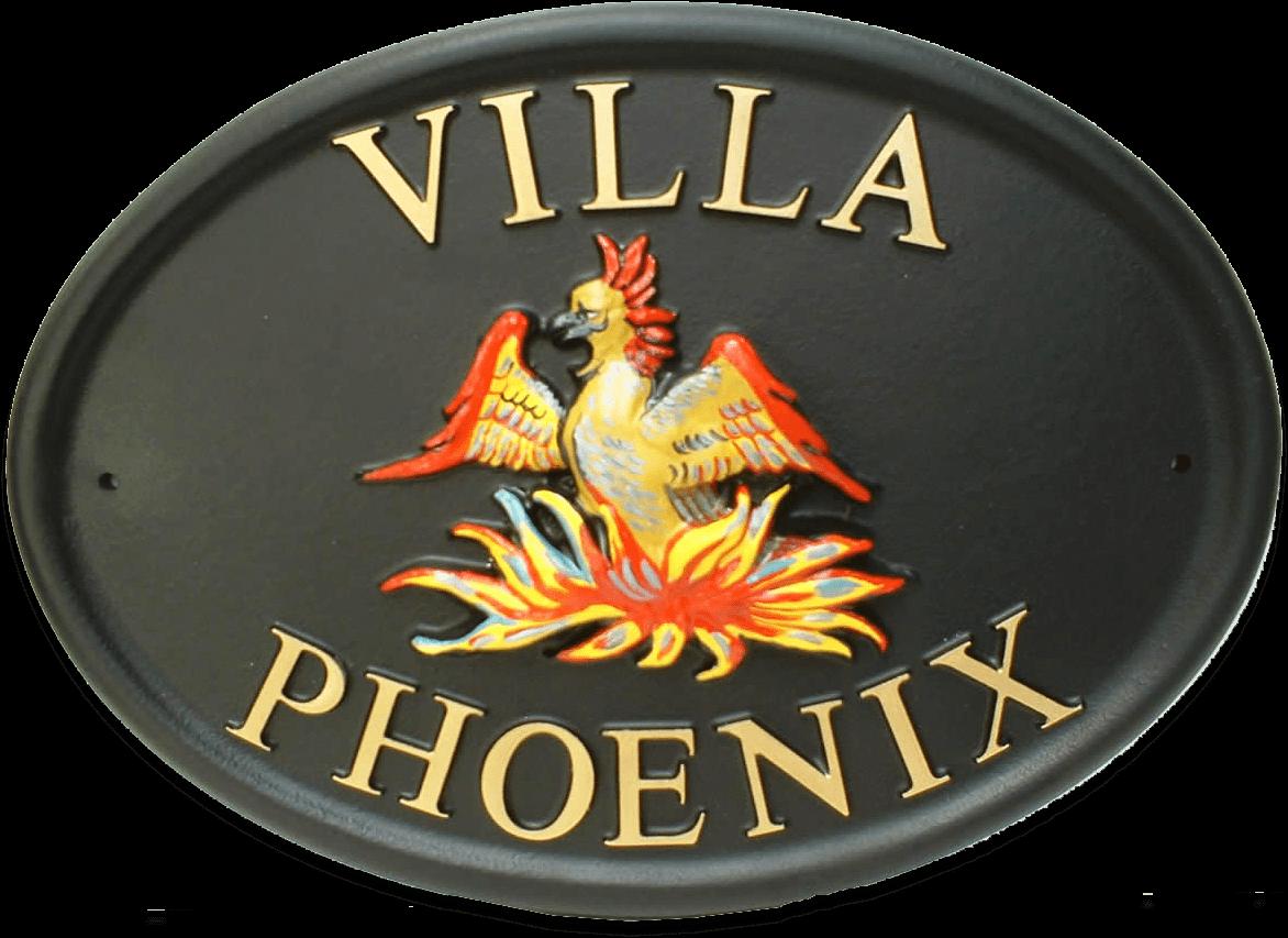 Phoenix house sign