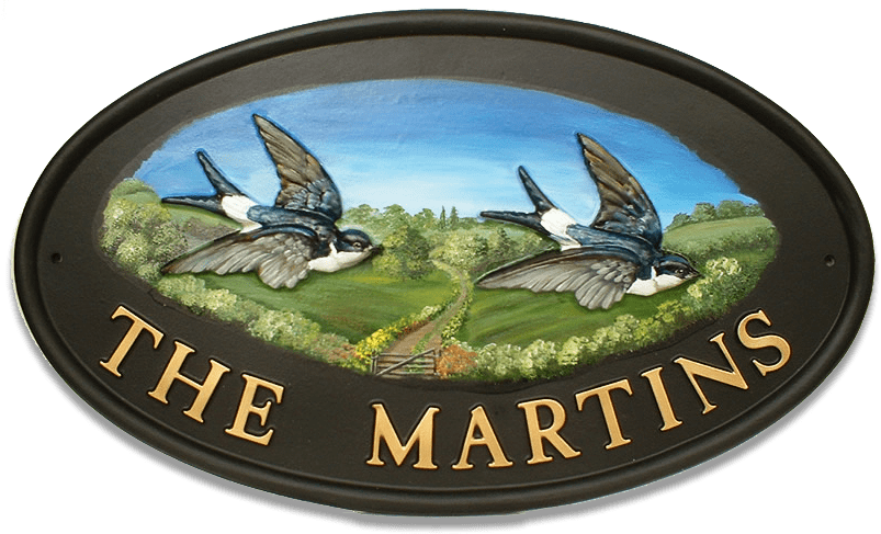 Housemartins house sign