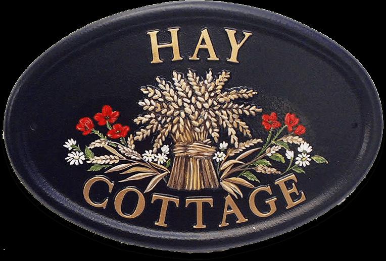 Wheatsheaf house sign
