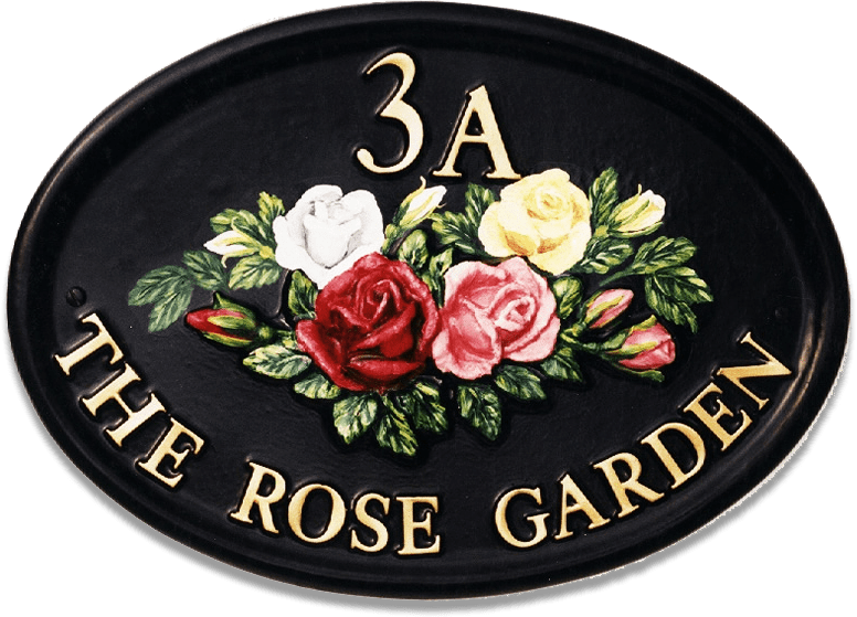 Roses Mixed house sign