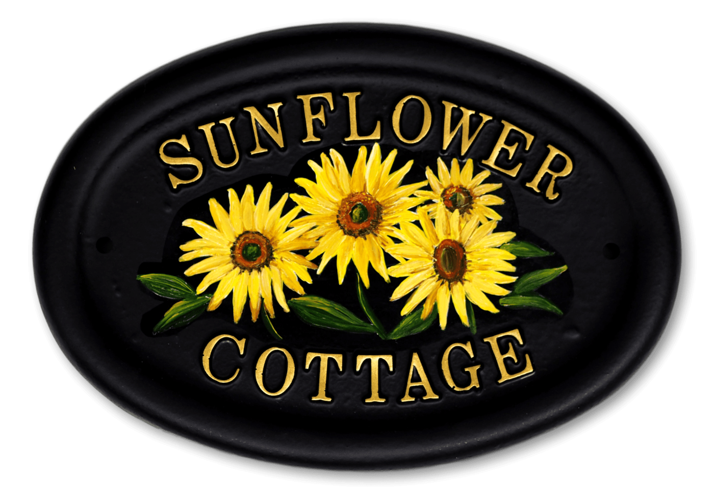 Sunflowers house sign