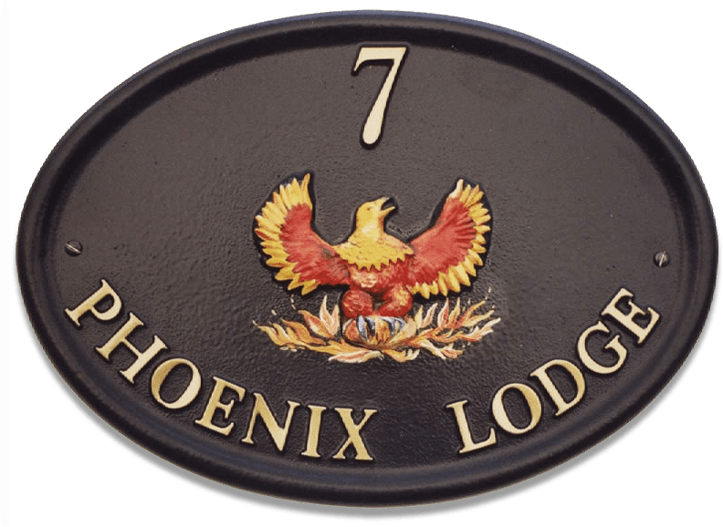 Phoenix Small house sign