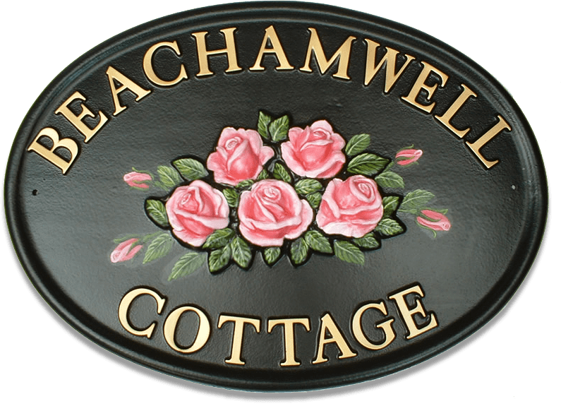 Roses Large house sign