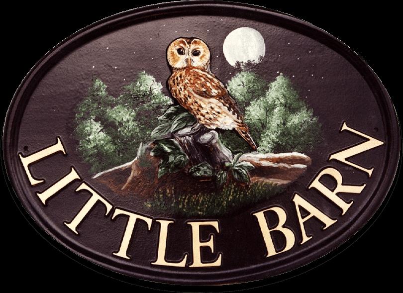 Owl Tawny Large house sign