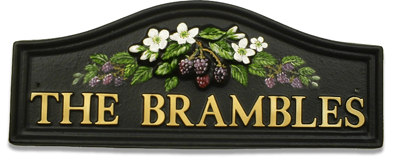 Brambles house sign