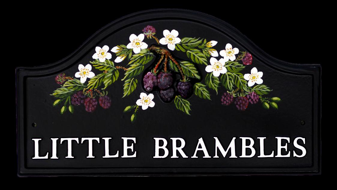 Brambles house sign