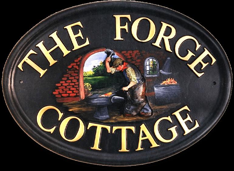 Farrier house sign