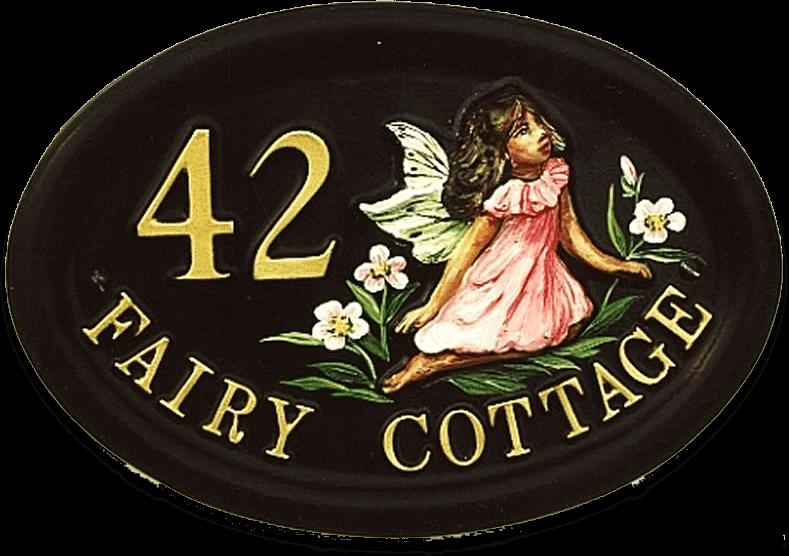 Fairy house sign
