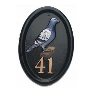 Pigeon Bird House Sign house sign