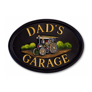 Traction Engine Miscellaneous House Sign house sign