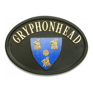 Shield Miscellaneous House Sign house sign