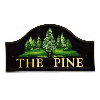 Pine Tree Tree House Sign house sign
