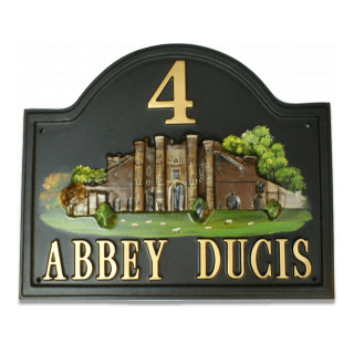 Abbey Miscellaneous House Sign house sign