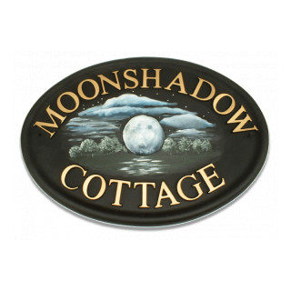 Moon Miscellaneous House Sign house sign