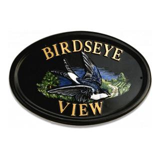 Housemartin Bird House Sign house sign