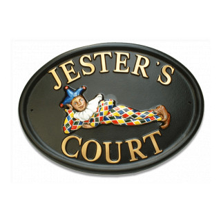Jester Miscellaneous House Sign house sign