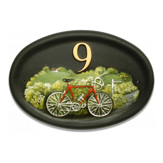 Bicycle Miscellaneous House Sign house sign