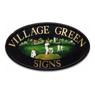 Cricketers Miscellaneous House Sign house sign