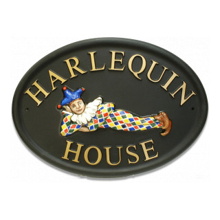 Harlequin Miscellaneous House Sign house sign