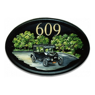 Car Model T Ford Miscellaneous House Sign house sign