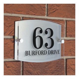 Burford Acrylic House Sign house sign
