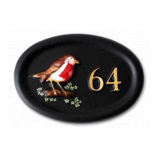 Robin Bird House Sign house sign