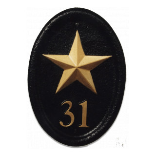 Gold Star Miscellaneous House Sign house sign