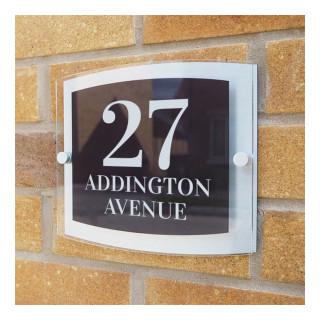 Addington Acrylic House Sign house sign