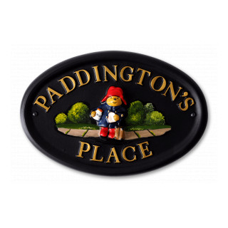 Paddington Bear Miscellaneous House Sign house sign