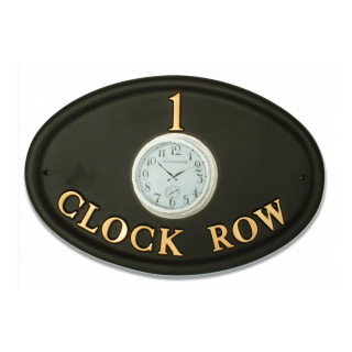 Clock Miscellaneous House Sign house sign