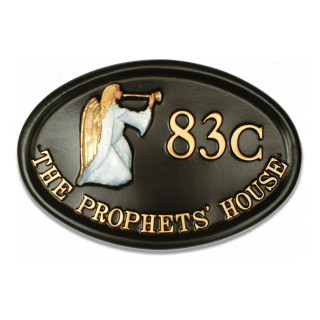 Angel Miscellaneous House Sign house sign