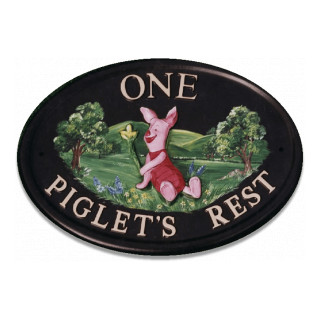 Piglet Miscellaneous House Sign house sign
