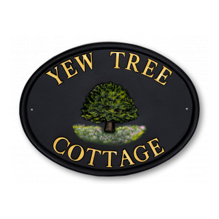 Yew Tree House Sign house sign