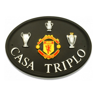 Man Utd Miscellaneous House Sign house sign