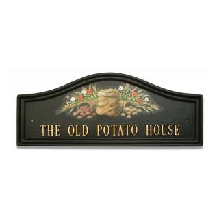 Potato Sacks Miscellaneous House Sign house sign