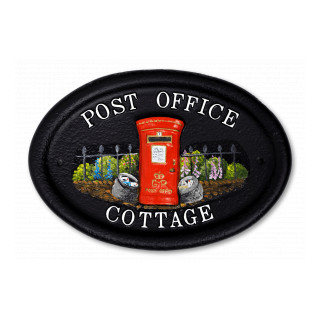 Post Box Miscellaneous House Sign house sign